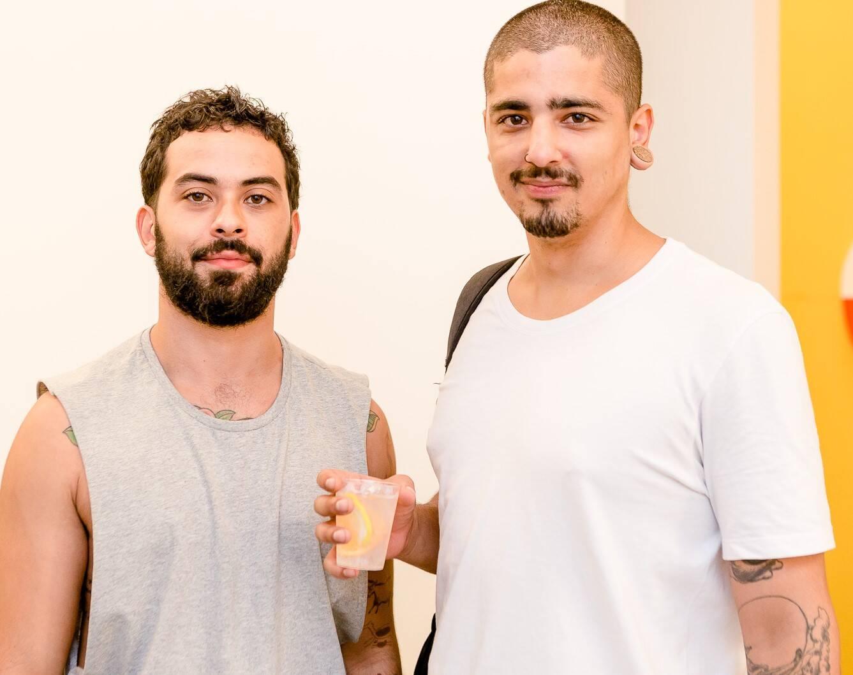 Aldones Nino e Guilherme Siqueira /Foto: Bruno Ryfer