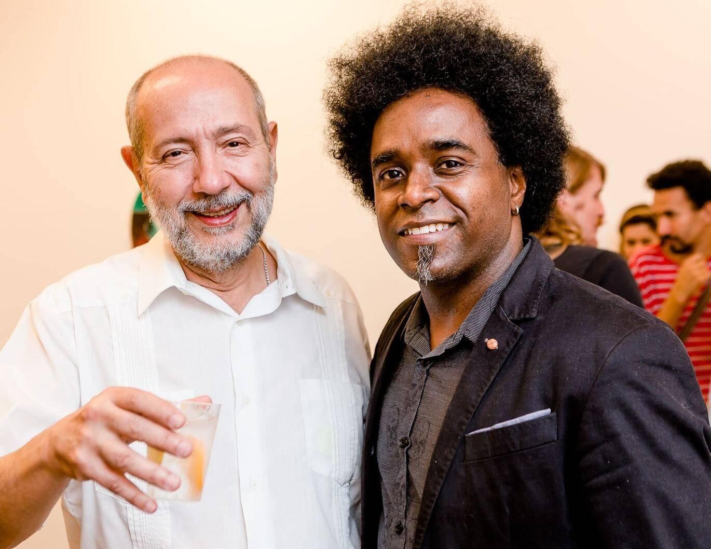 Fernando Cocchearali e Alexandre Arrechea /Foto: Bruno Ryfer