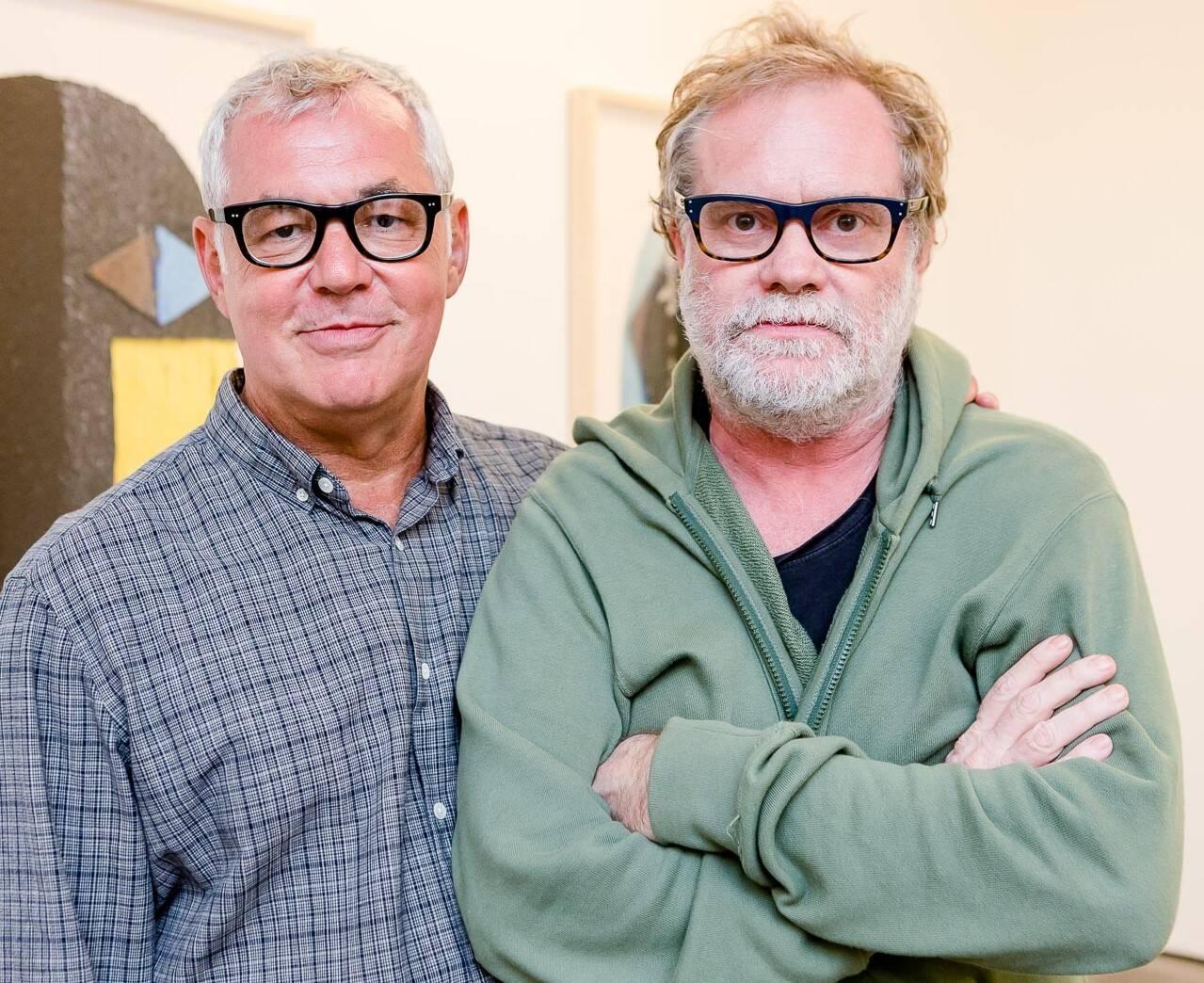 Marcos Chaves e Raul Mourão /Foto: Bruno Ryfer