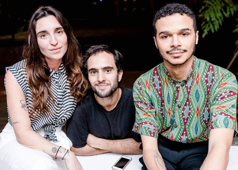 Mariana Falcão, Matheus Antonio e Marcos Pavão /Foto: Bruno Ryfer