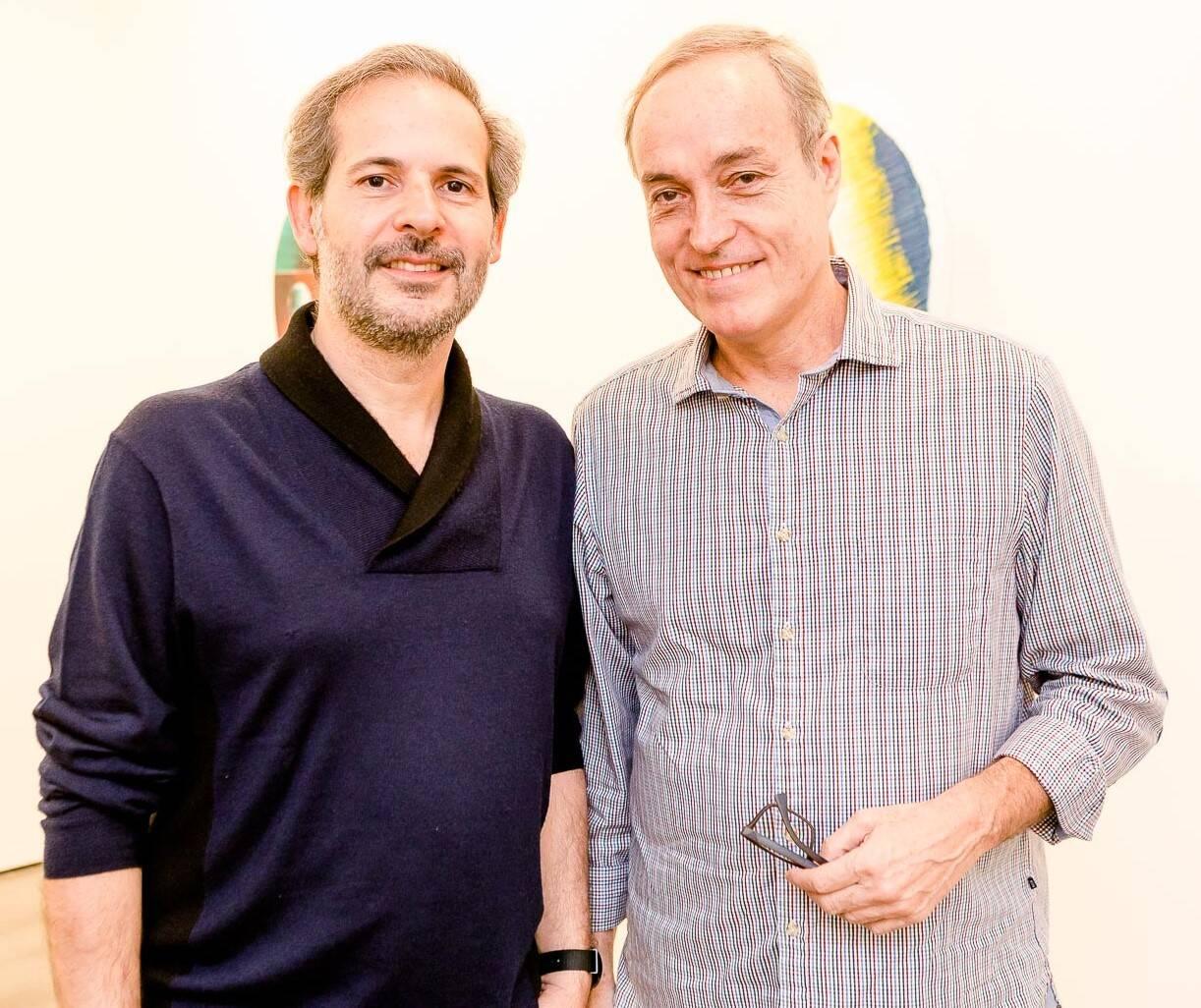 Alexandre Roesler e Edu Coimbra /Foto: Bruno Ryfer