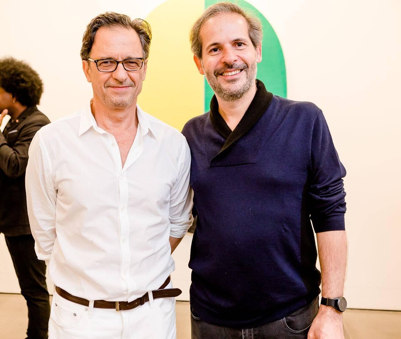 Daniel Senise e Alexandre Roesler /Foto: Bruno Ryfer