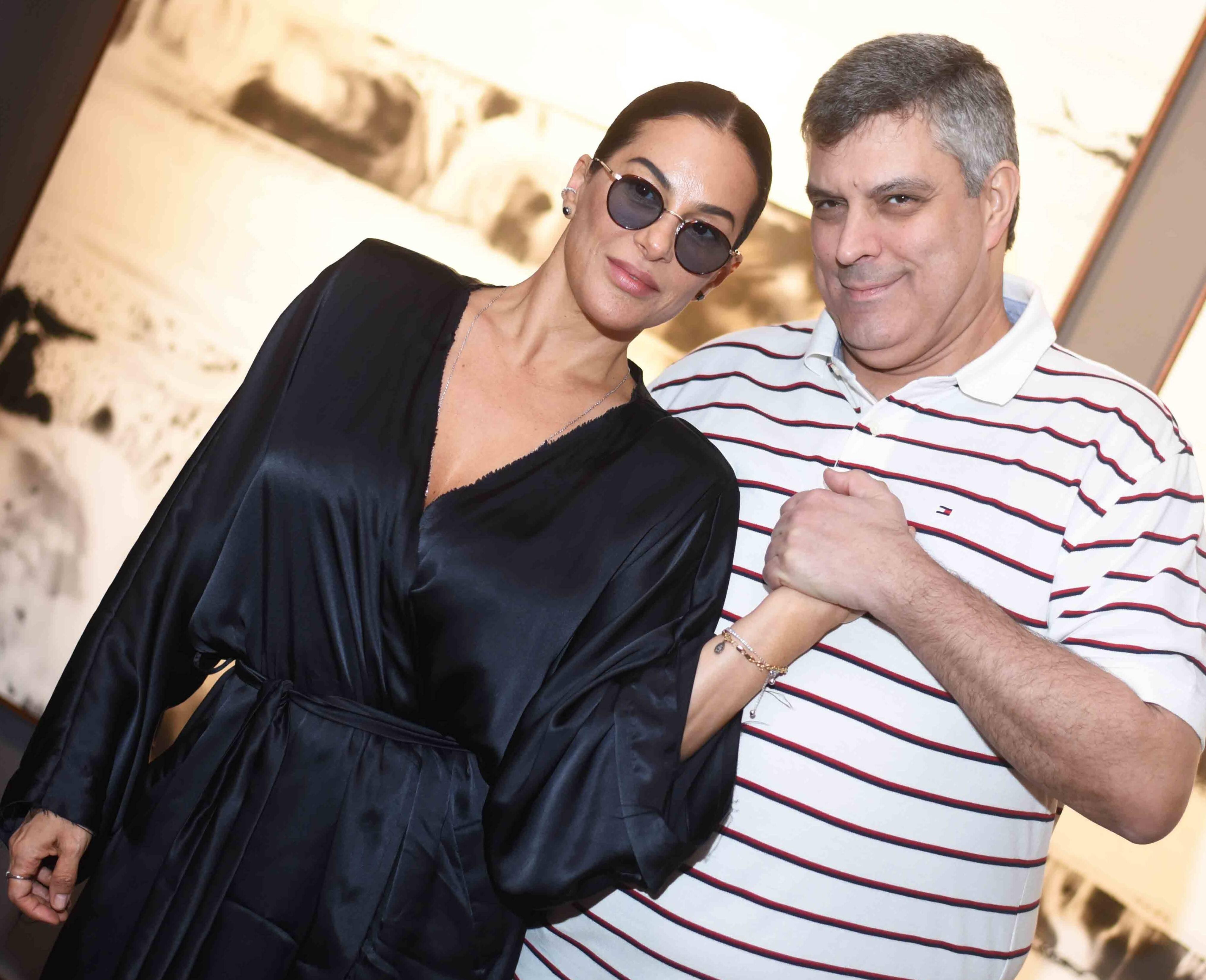 Paula Klien e Fabio Cuiabano /Foto: Ari Kaye