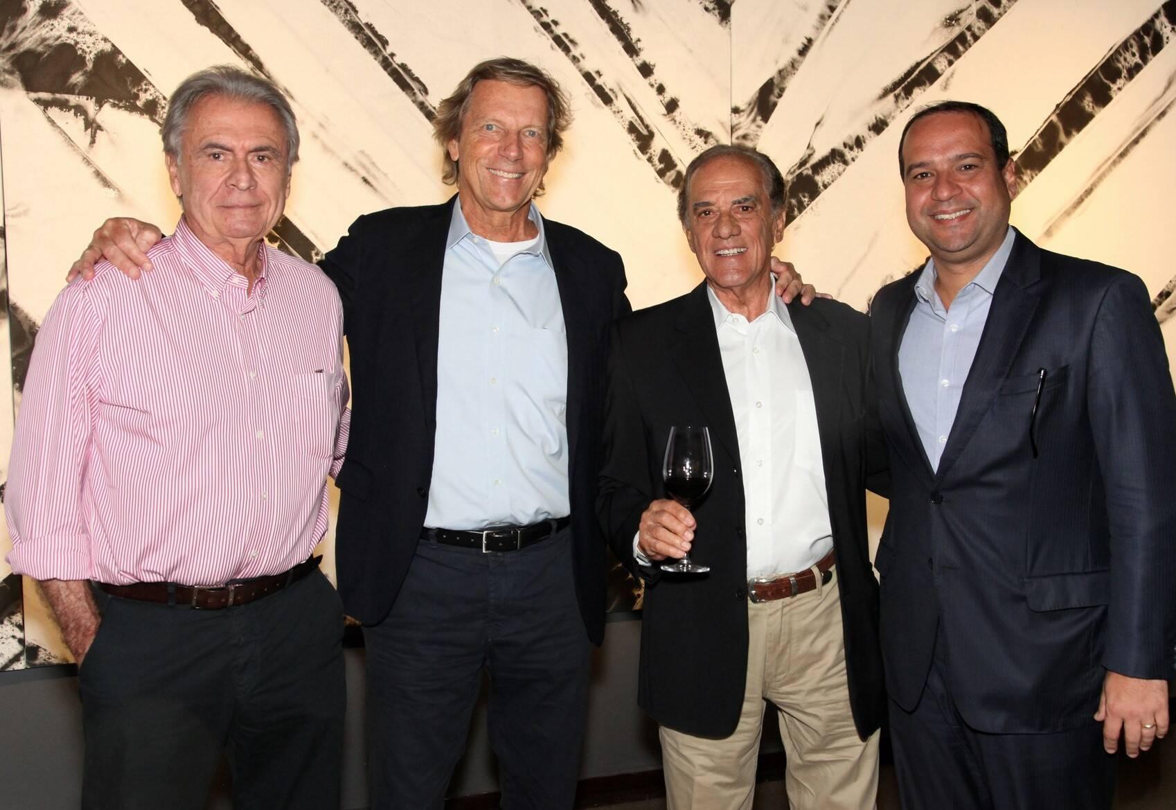 Alexandre Gadelha, Thomas Klein, Eduardo Baptista e Pedro Teixeira /Foto: Vera Donato