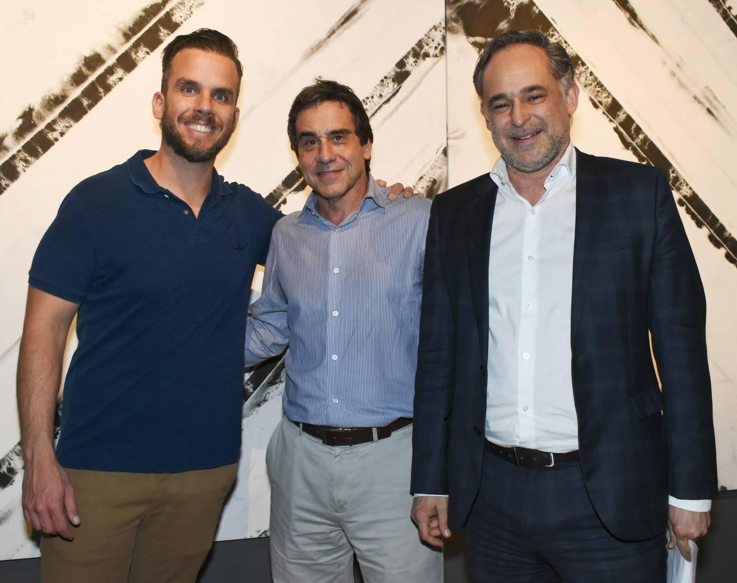 Paulo Klien, Luiz Henrique Carneiro e Marcio Fortes  /Foto: Vera Donato