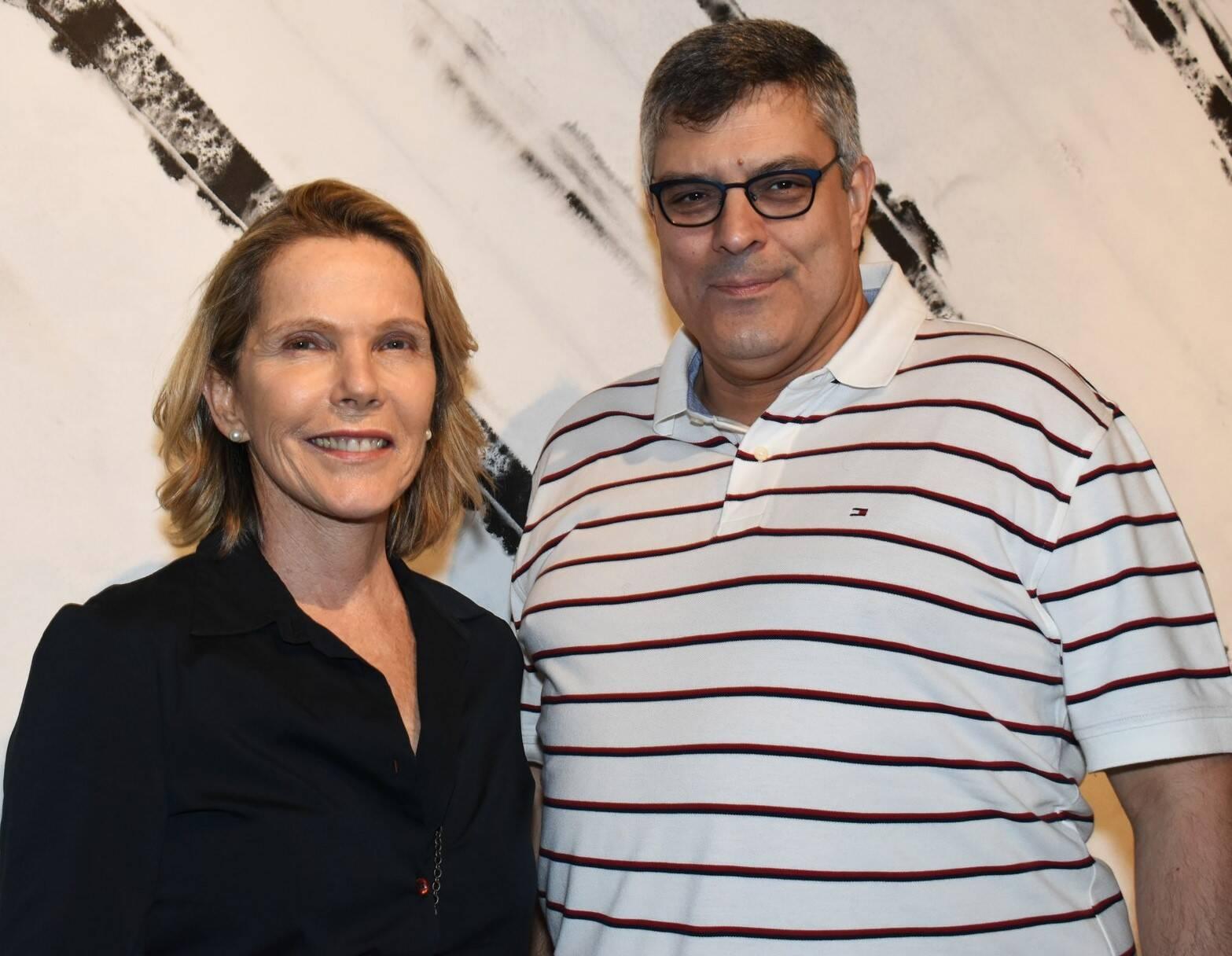 Rose Klien e Fabio Cuiabano  /Foto: Vera Donato