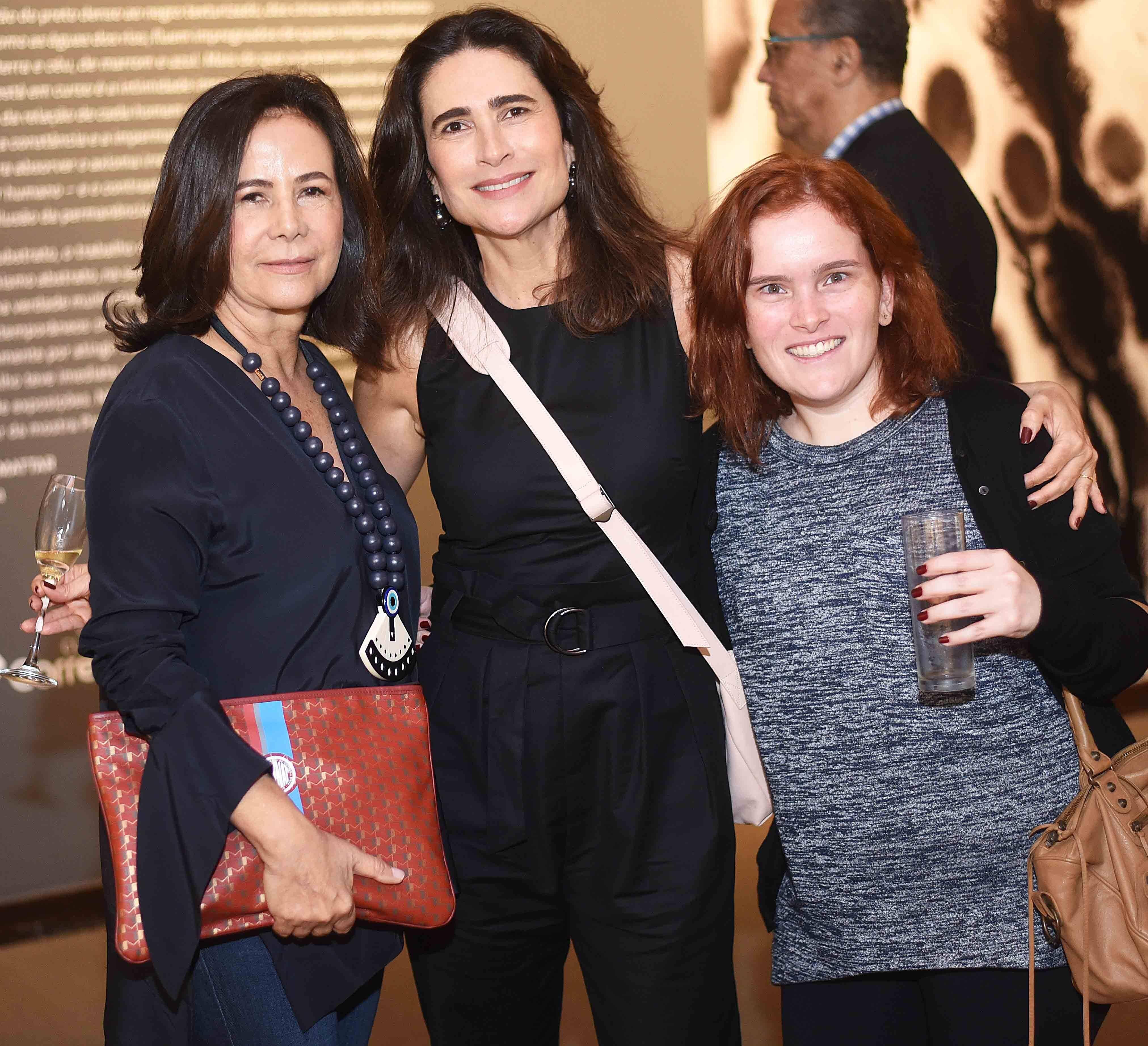 Liliane Neves, Renata Klien e Carolina Klien /Foto: Ari Kaye