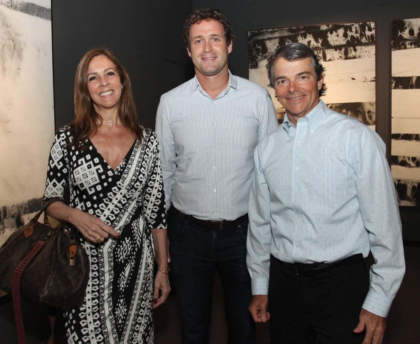 Paula Magalhães, João Kossmann e Arno Rebelo  /Foto: Vera Donato