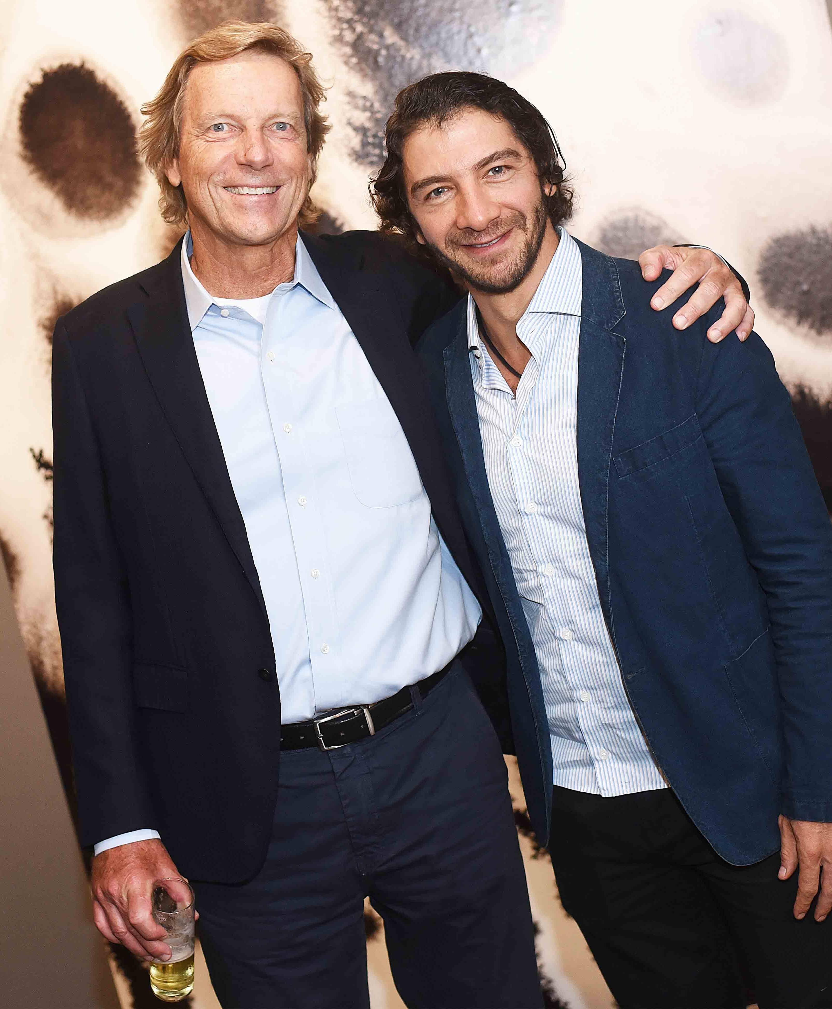 Thomas Klien e Fabio Szwarcwald /Foto: Ari Kaye