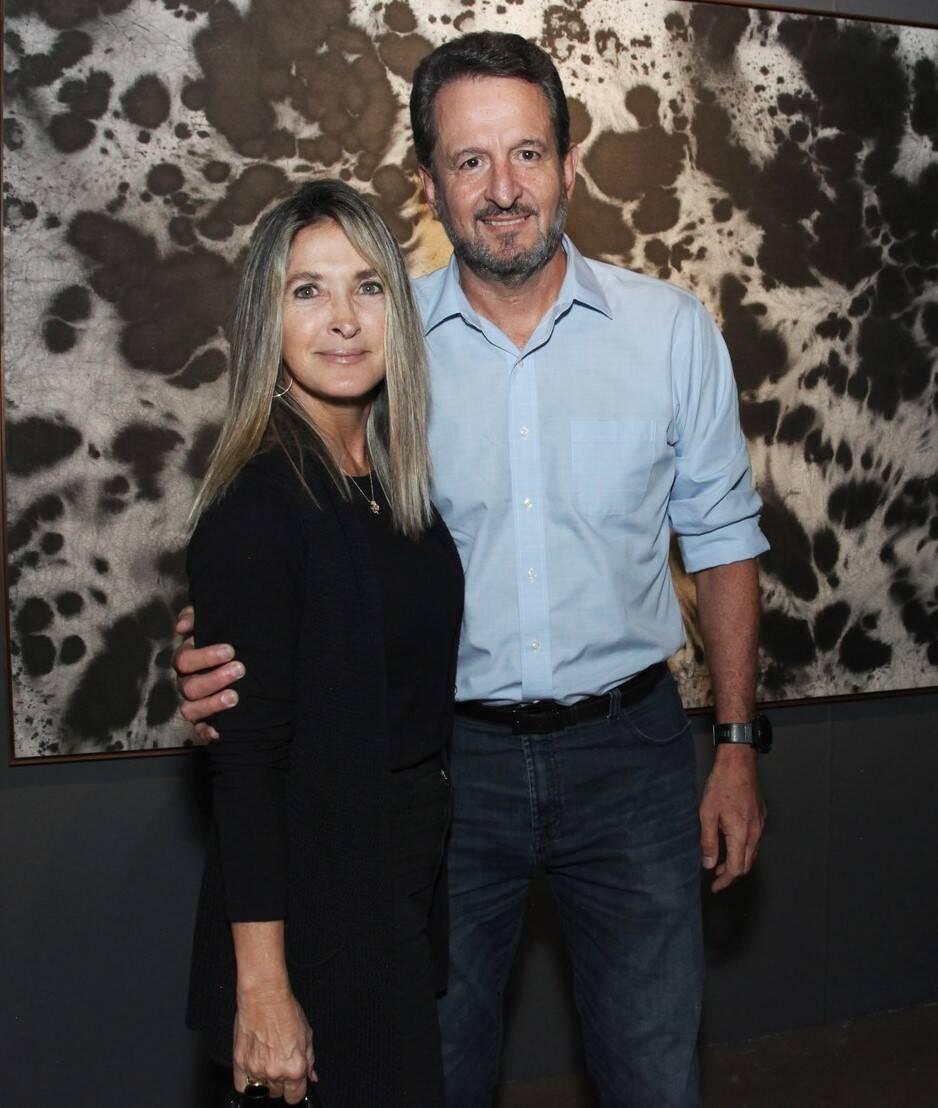 Claudia e Arthur Repsold  /Foto: Vera Donato