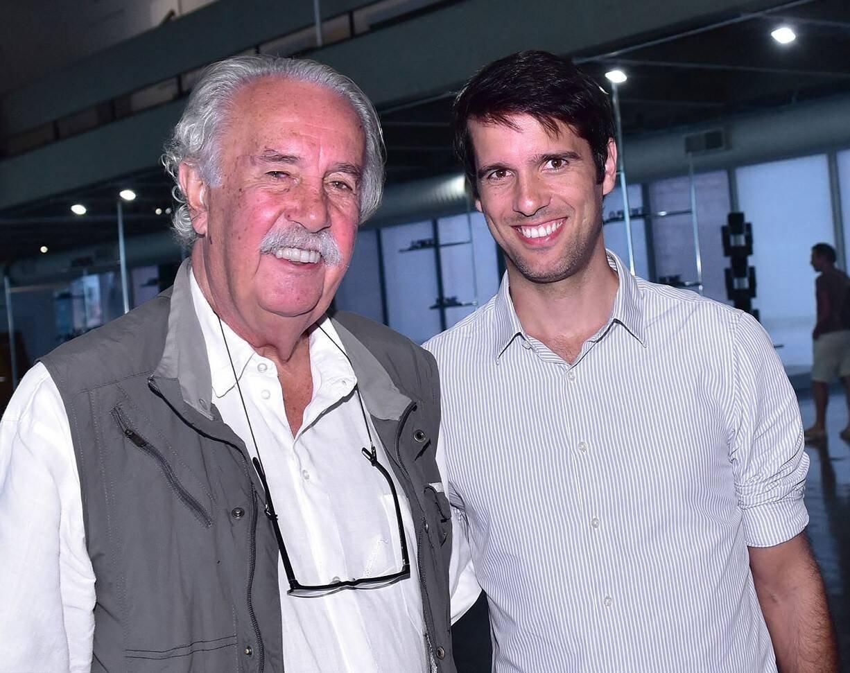 Carlos Vergara e João Vergara /Foto: Paulo Jabur