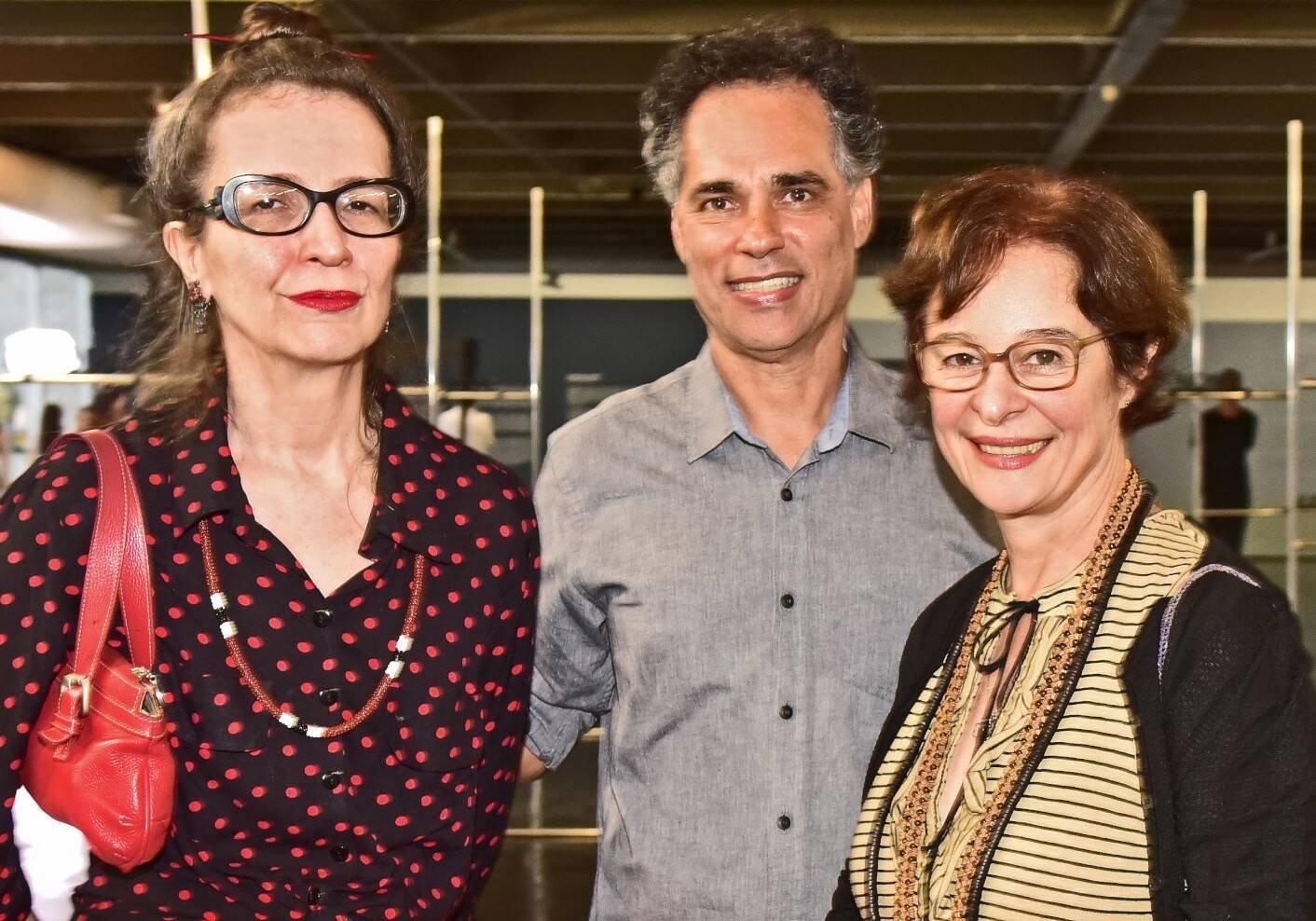 Ana Miguel,  FRanklin Pedroso e Carla Guagliardi /Foto: Paulo Jabur