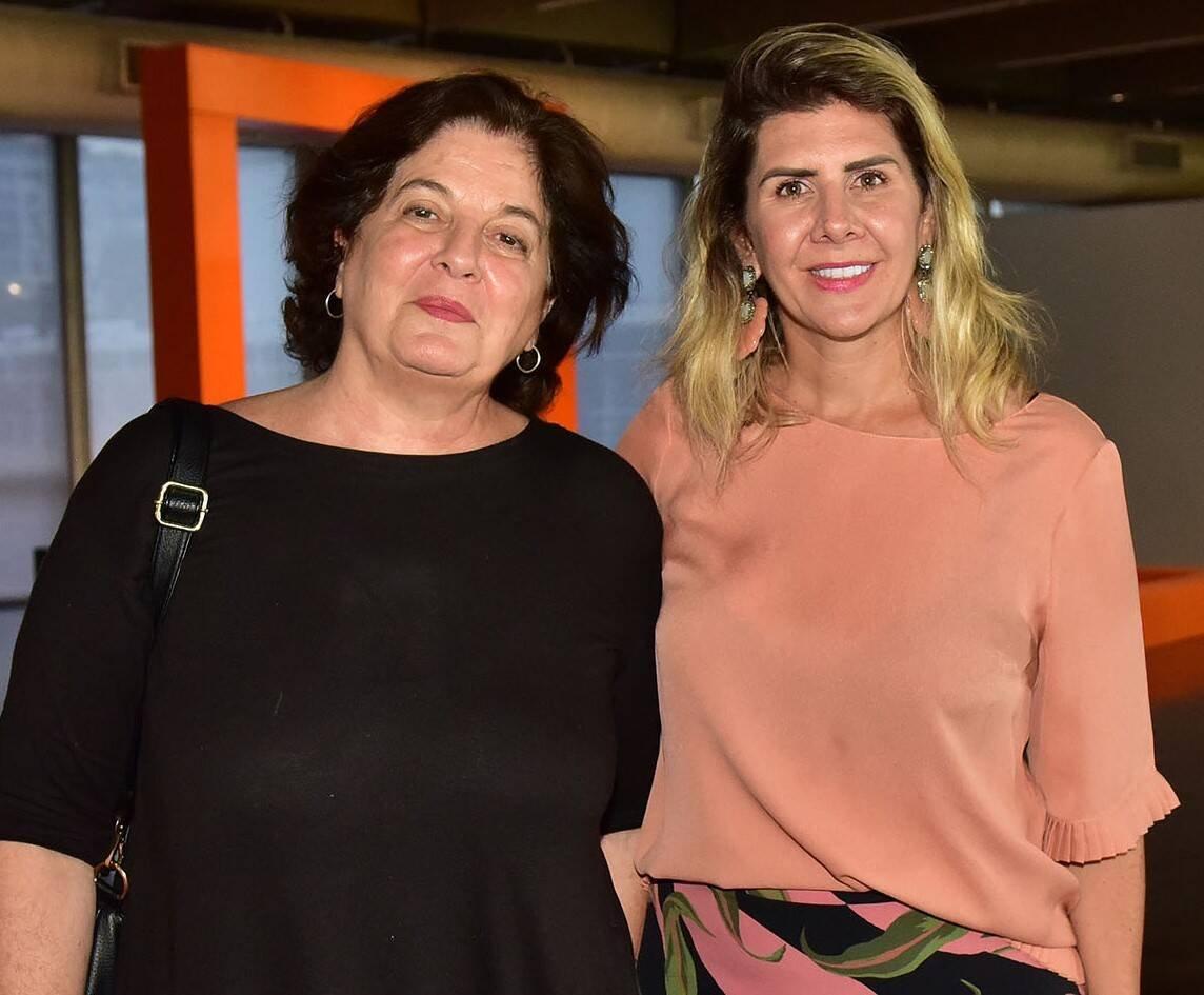 Adriana Rosenberg e Fernanda Candeias /Foto: Paulo Jabur
