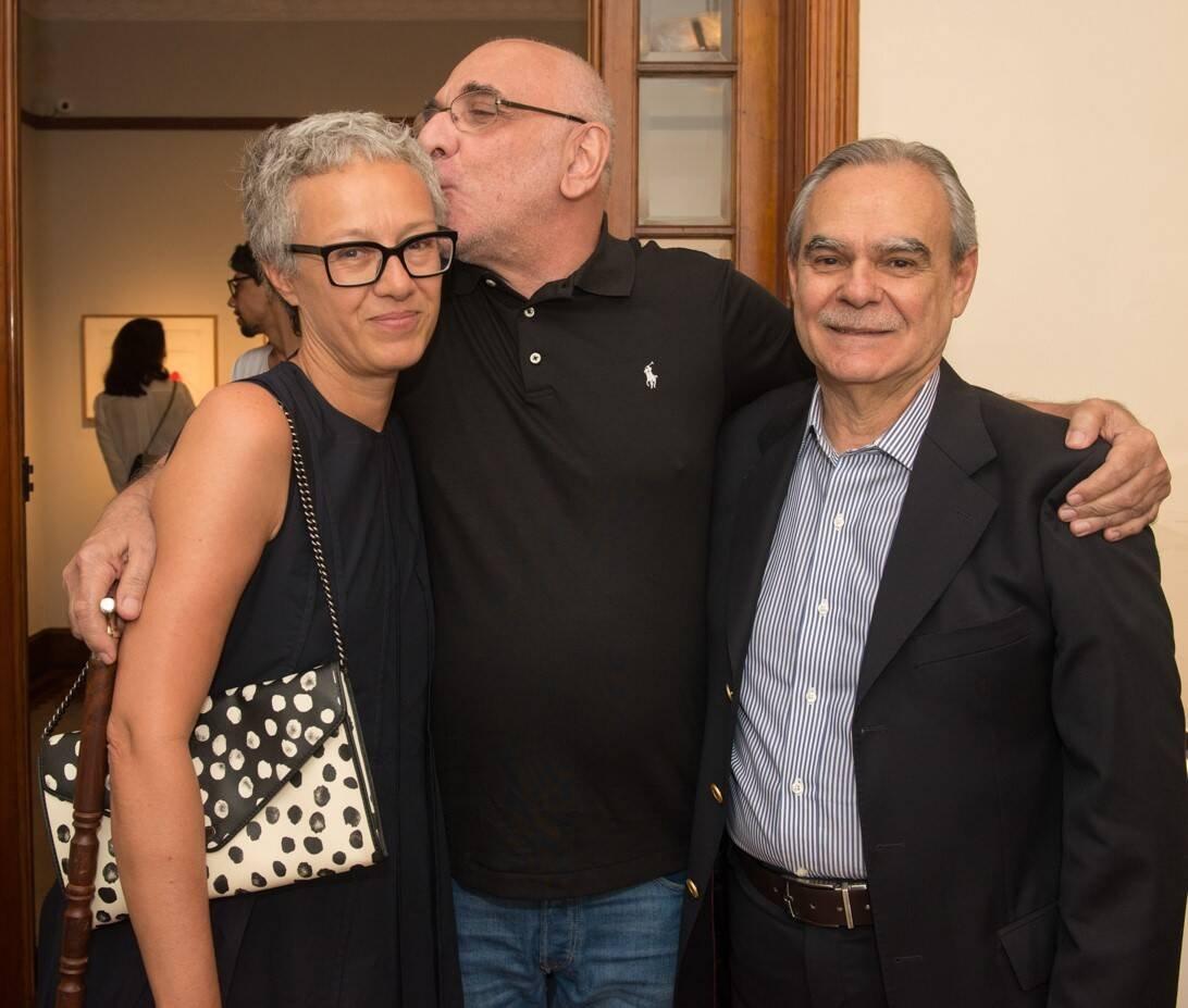 Paola Chieregato, Afonso Costa e Max Perlingeiro /Foto: Cristina Lacerda