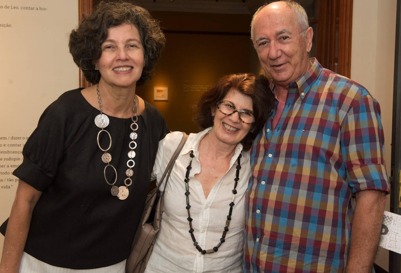 Claudia Noronha, Norma Scaglione e Jaime Villaseca /Foto: Cristina Lacerda