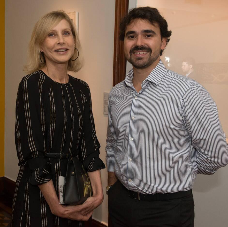 Helena Maggioni e Max Perlingeiro Filho /Foto: Cristina Lacerda