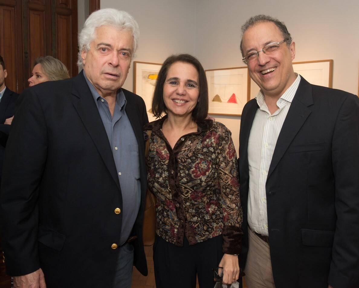 João Marcos Mendes de Souza, Gisela Pitanguy e Raul Chamma /Foto: Cristina Lacerda