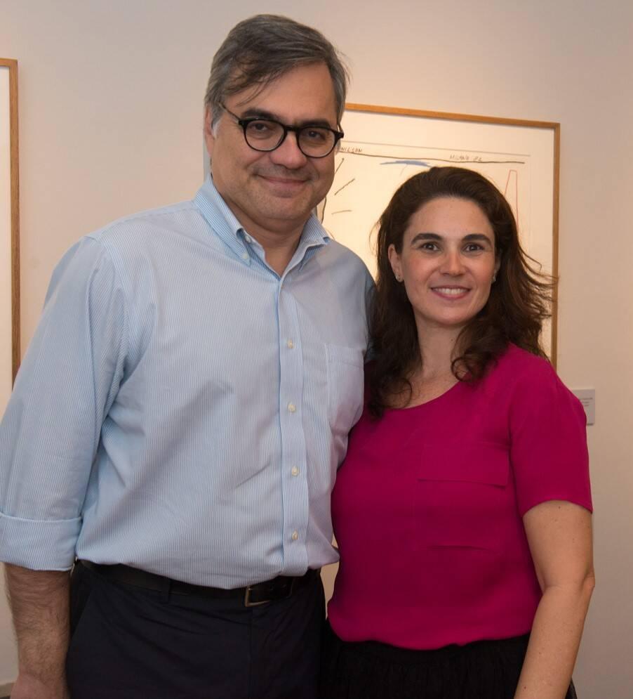 Luiz Chrysostomo e Mariana Perlingeiro /Foto: Cristina Lacerda