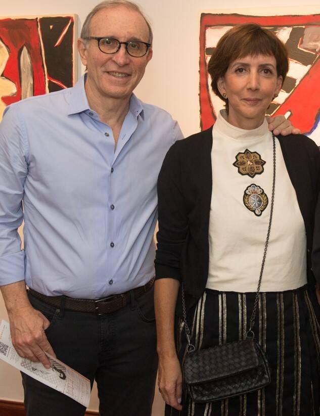 Marcio e Mara Fainziliber /Foto: Cristina Lacerda