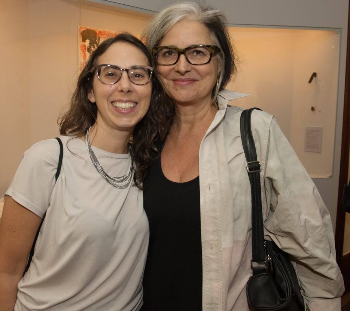 Rara Dias e Elizabeth Jobim /Foto: Cristina Lacerda