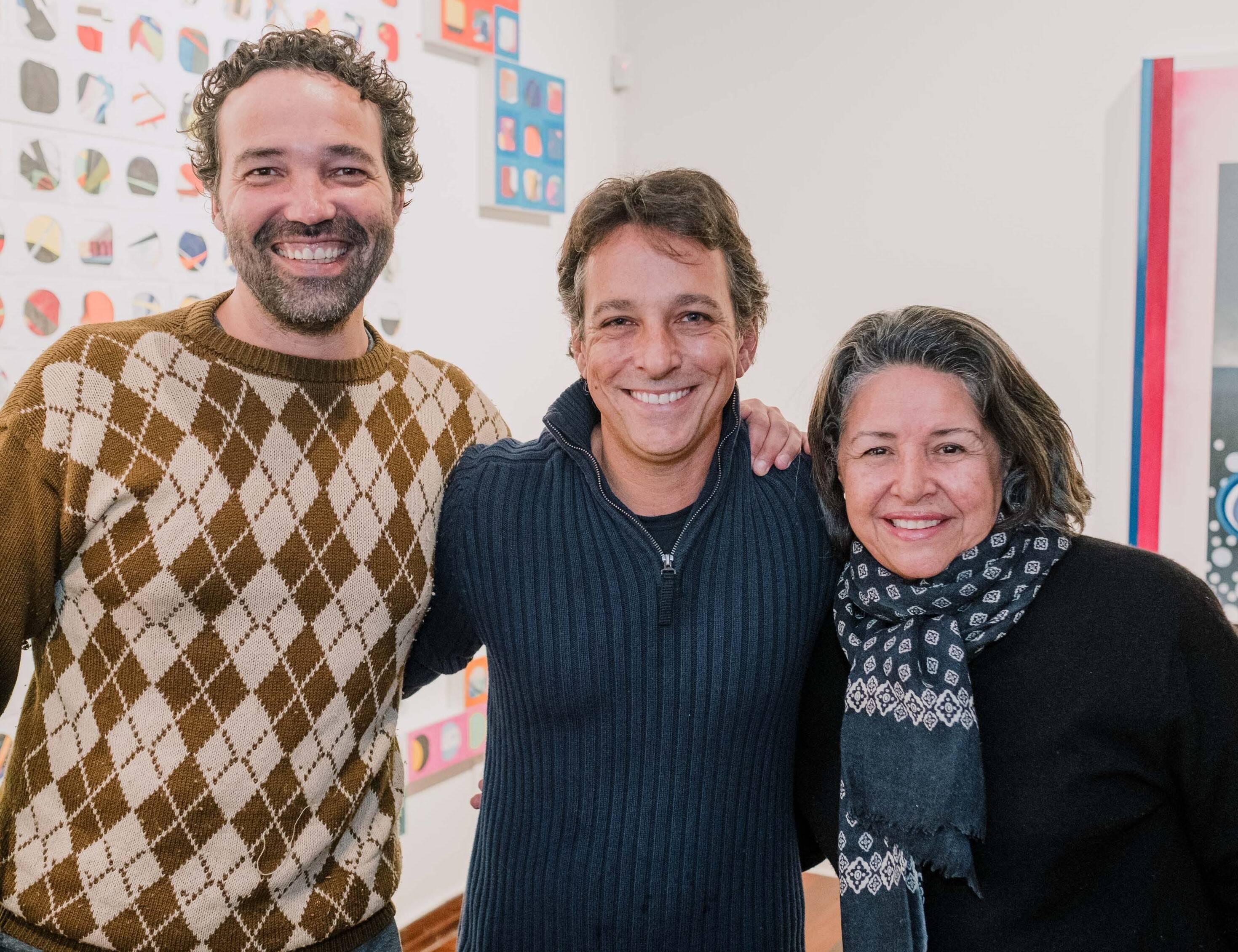 Alexandre Vogler, Bruno Lins e Regina Lemos /Foto: Tulio Thomé