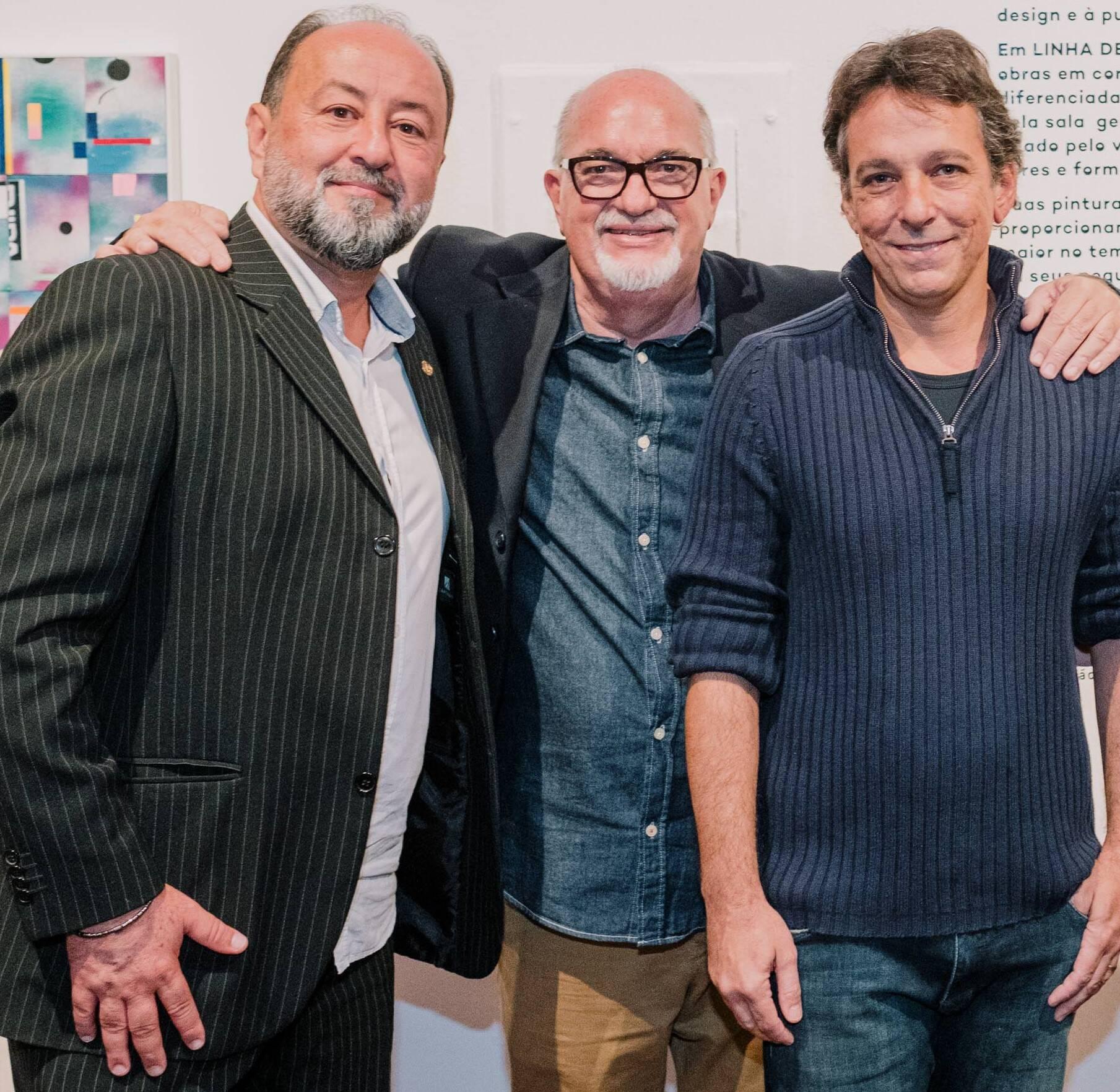 Ednor Medeiros, Carlos Bertão e Bruno Lins,  /Foto: Tulio Thomé