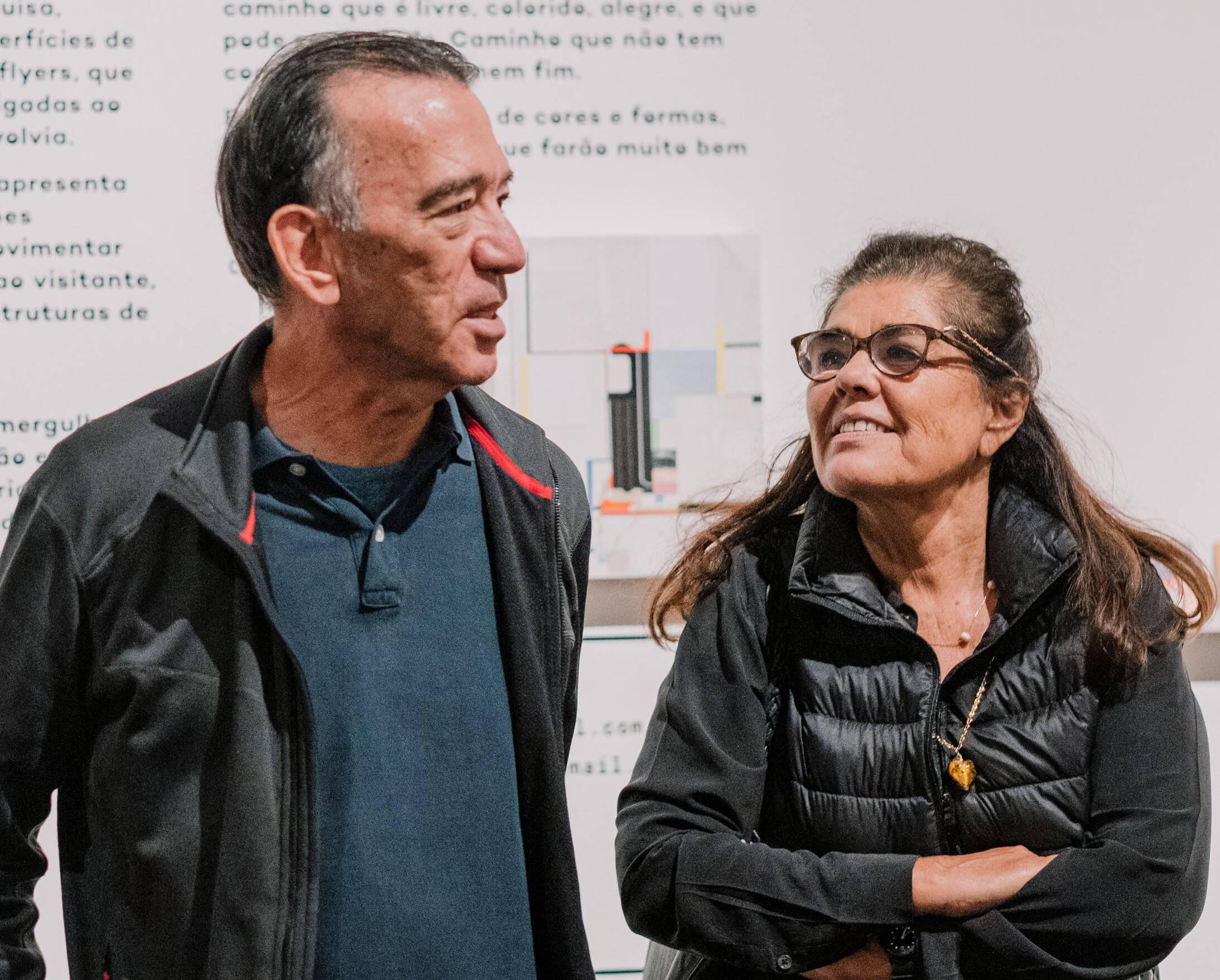 Antonio leite Garcia e Bia Borges  /Foto: Tulio Thomé
