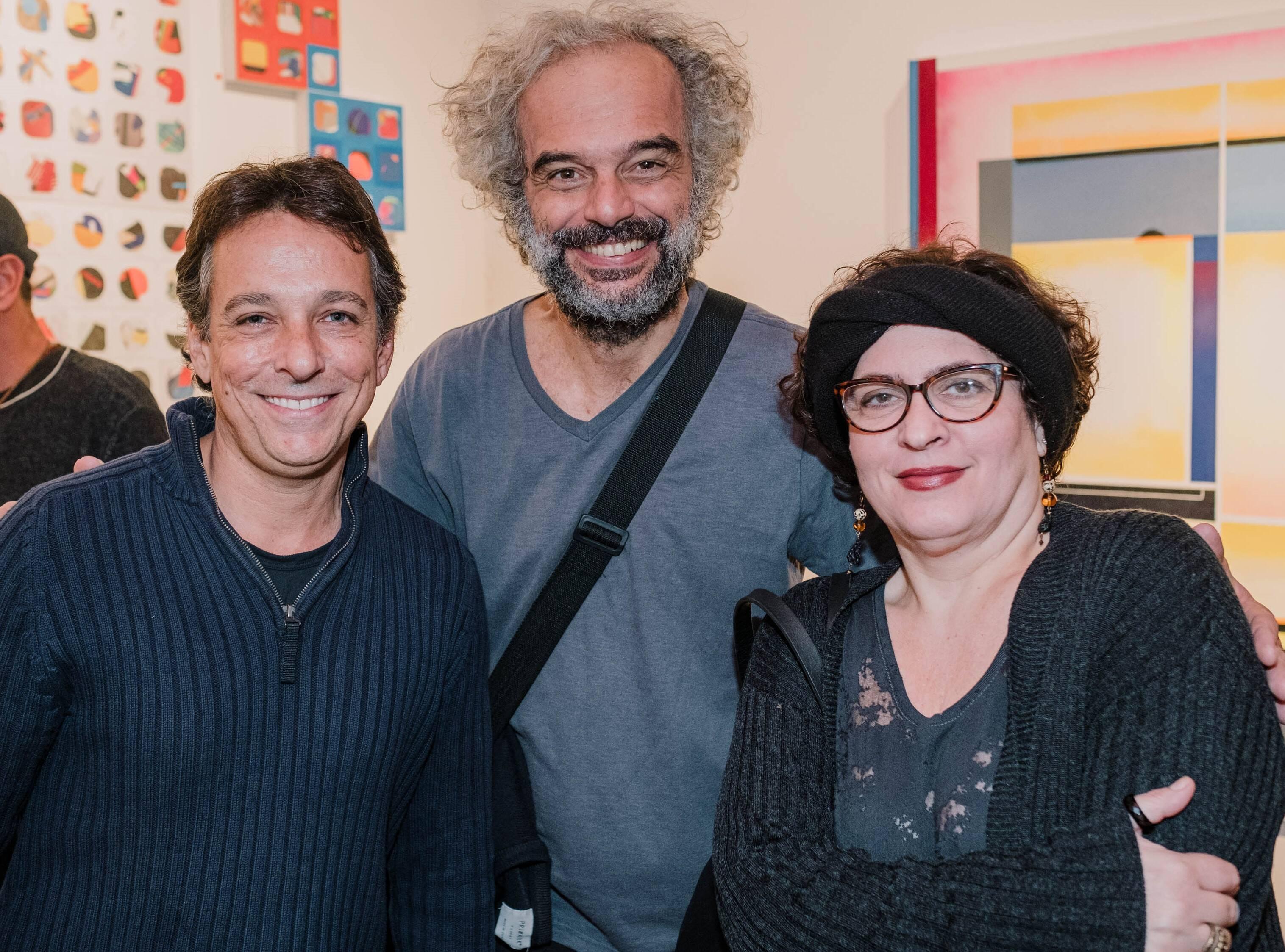 Bruno Lins, Eduardo Mariz e Clarisse Tarran  /Foto: Tulio Thomé