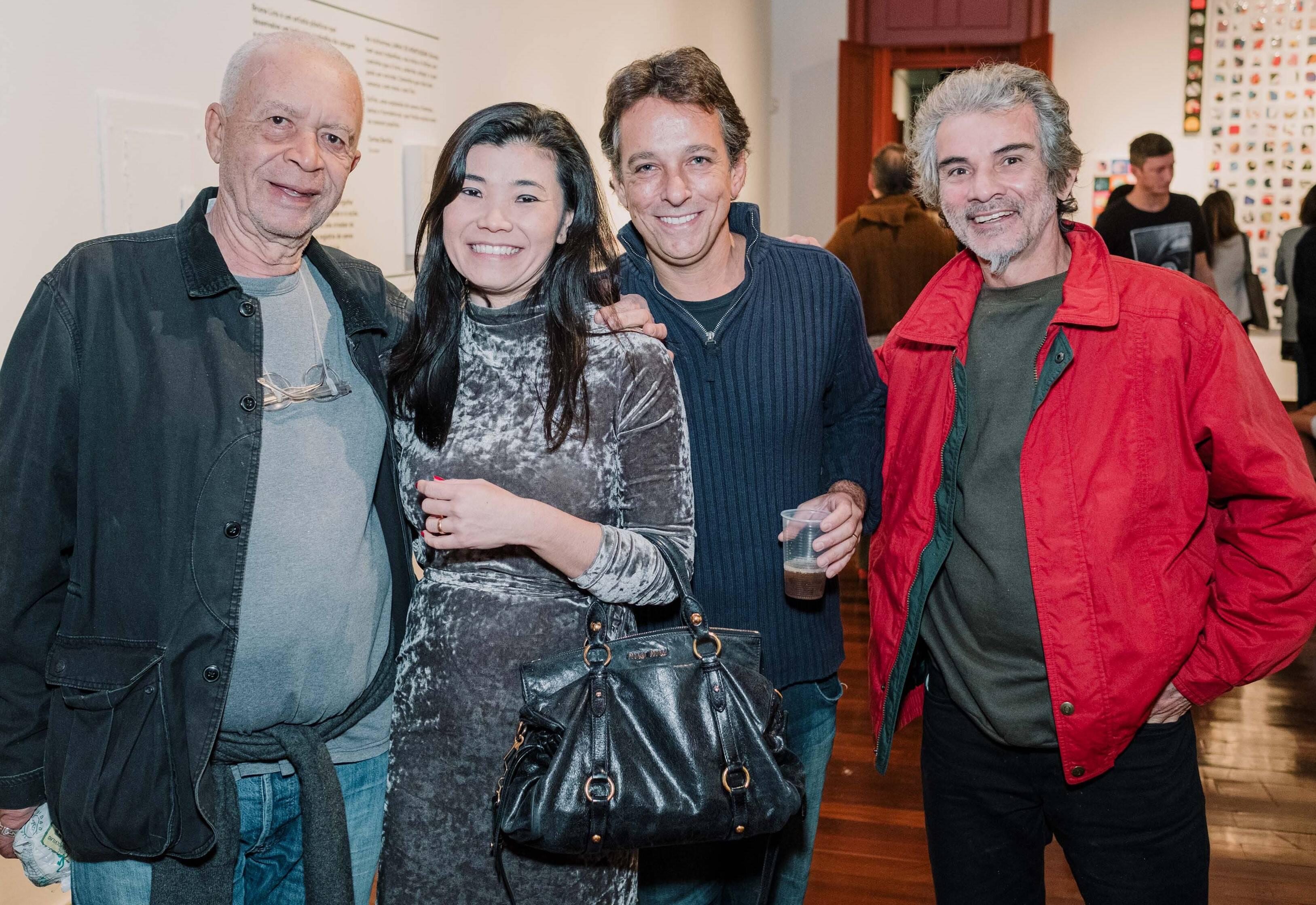 Diógenes Paixão, Simone Katsuren, Bruno Lins e Roosivelt Pinheiro  /Foto: Tulio Thomé