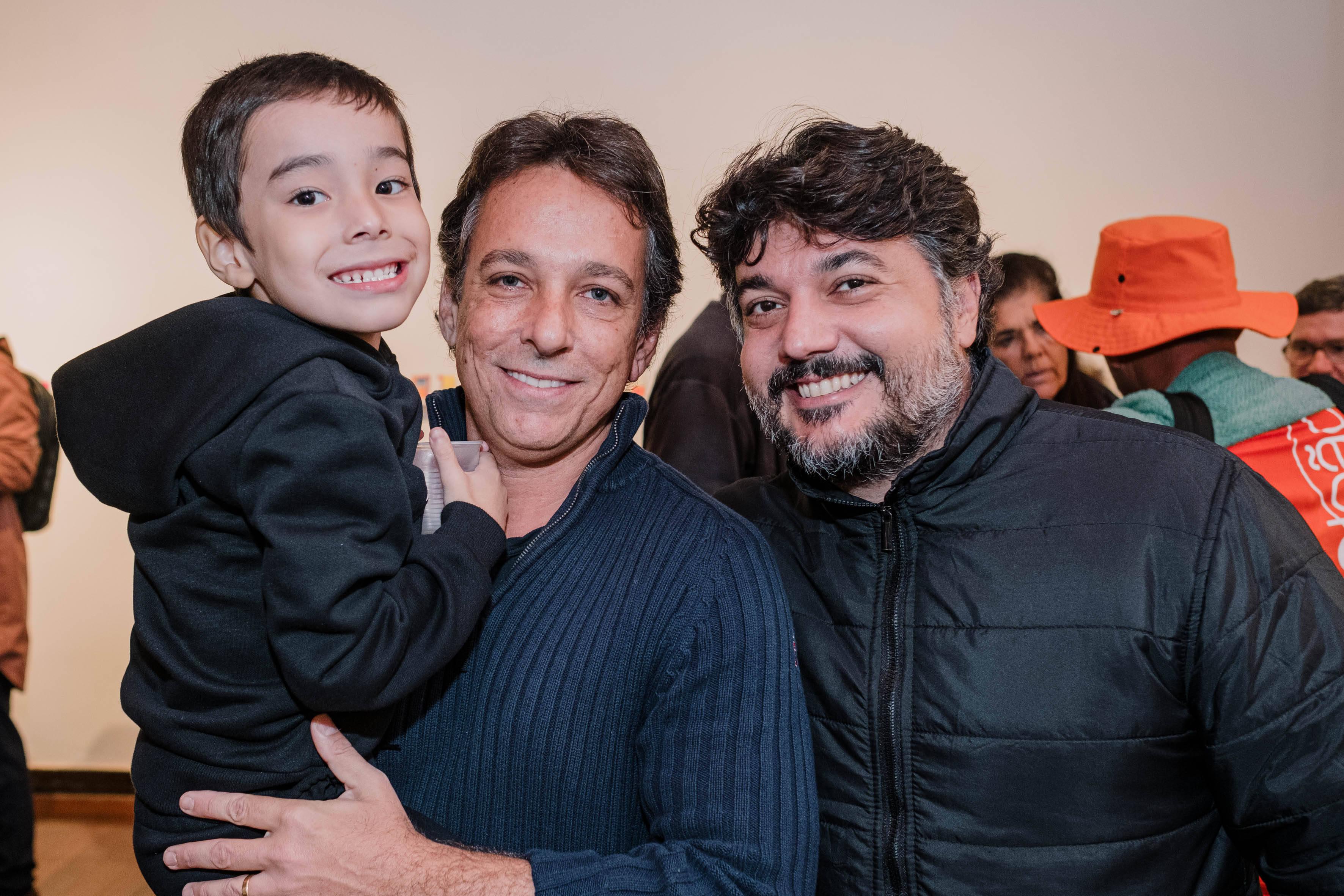 Kenzo Lins, Bruno Lins e Rafael Vicente  /Foto: Tulio Thomé