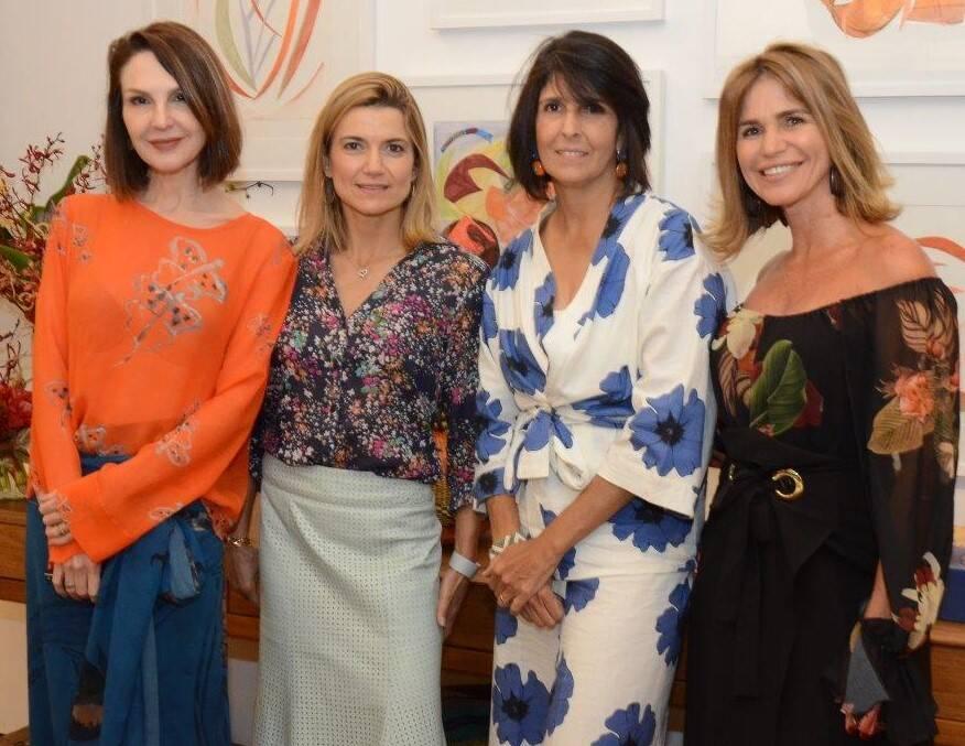 Toia Lemann, Flavia Marcolini, Lucila Pessoa de Queiroz e Edy Moreira  /Foto: Marco Rodrigues