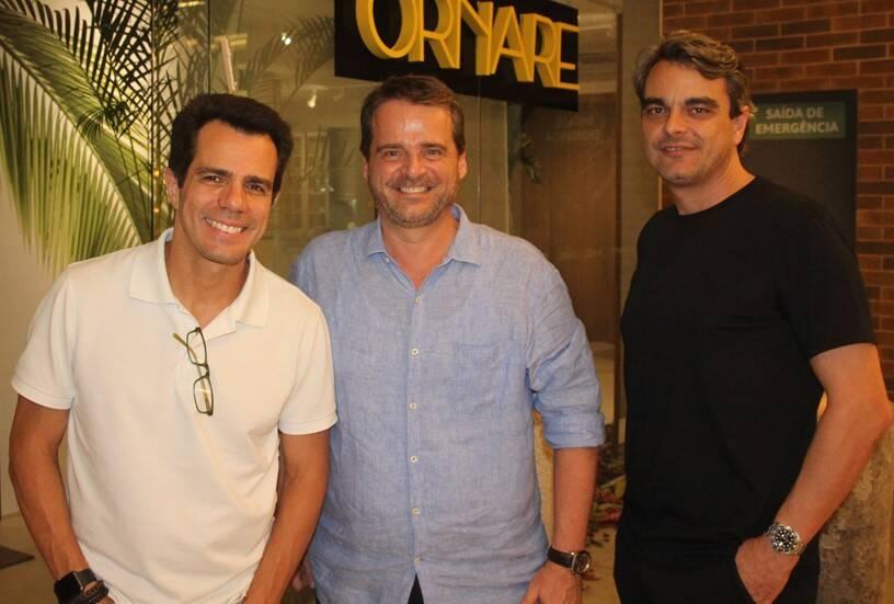 Luiz Fernando Amorim, Alexandre Bianco e Mario Amorim /Foto: Geraldo Valadares