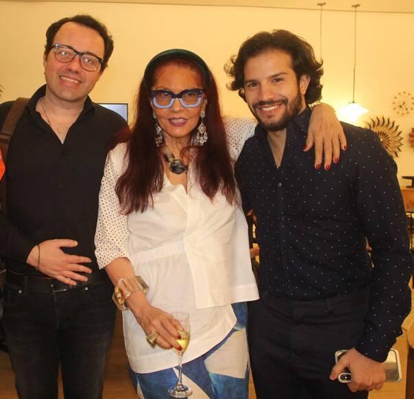 Gustavo Gonçalves, Tânia Caldas e Marcelo Cassim /Foto: Geraldo Valadares
