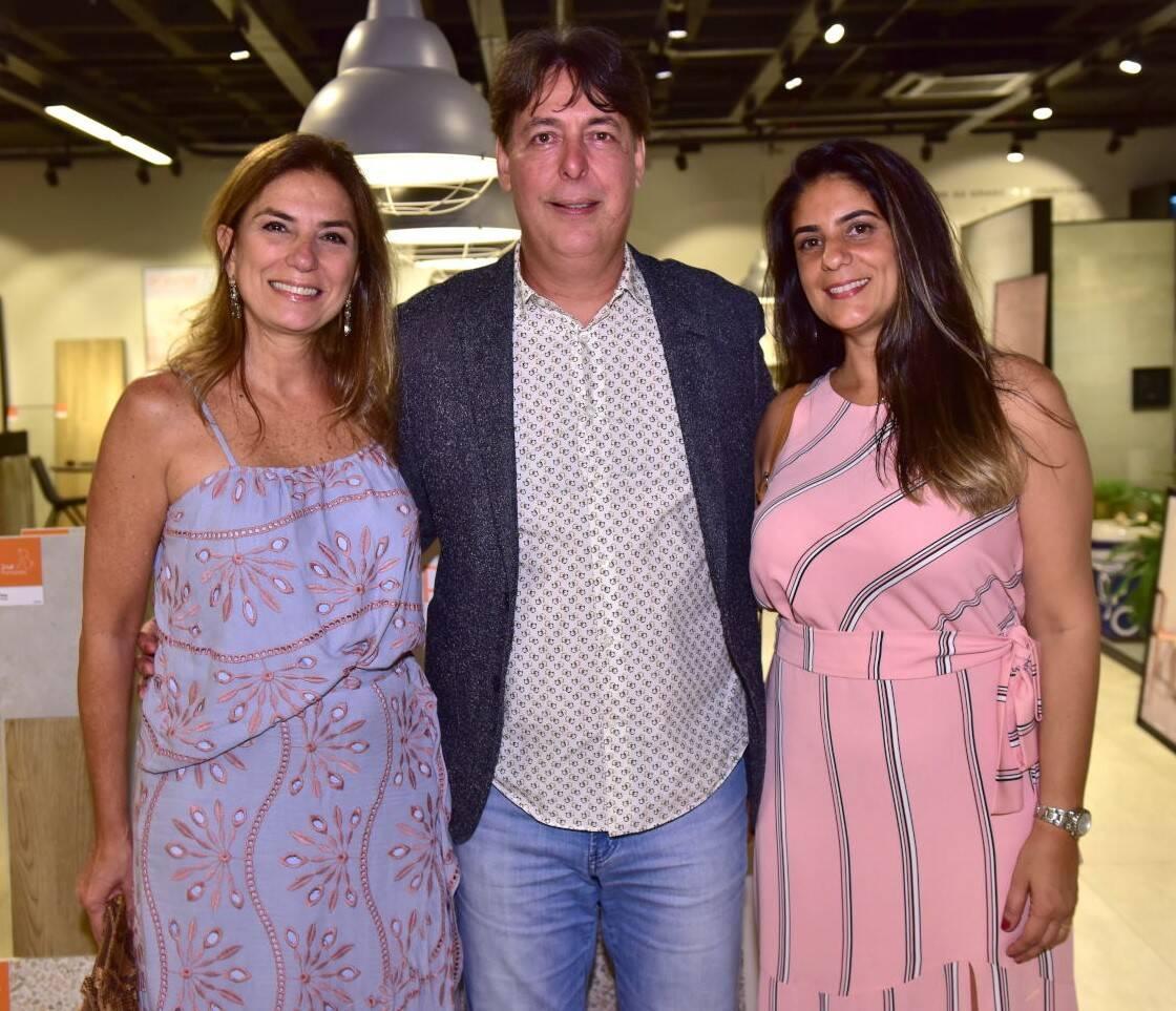Mônica Gervásio, Roberto Borges e Beatriz de Santiago /Foto: Paulo Jabur