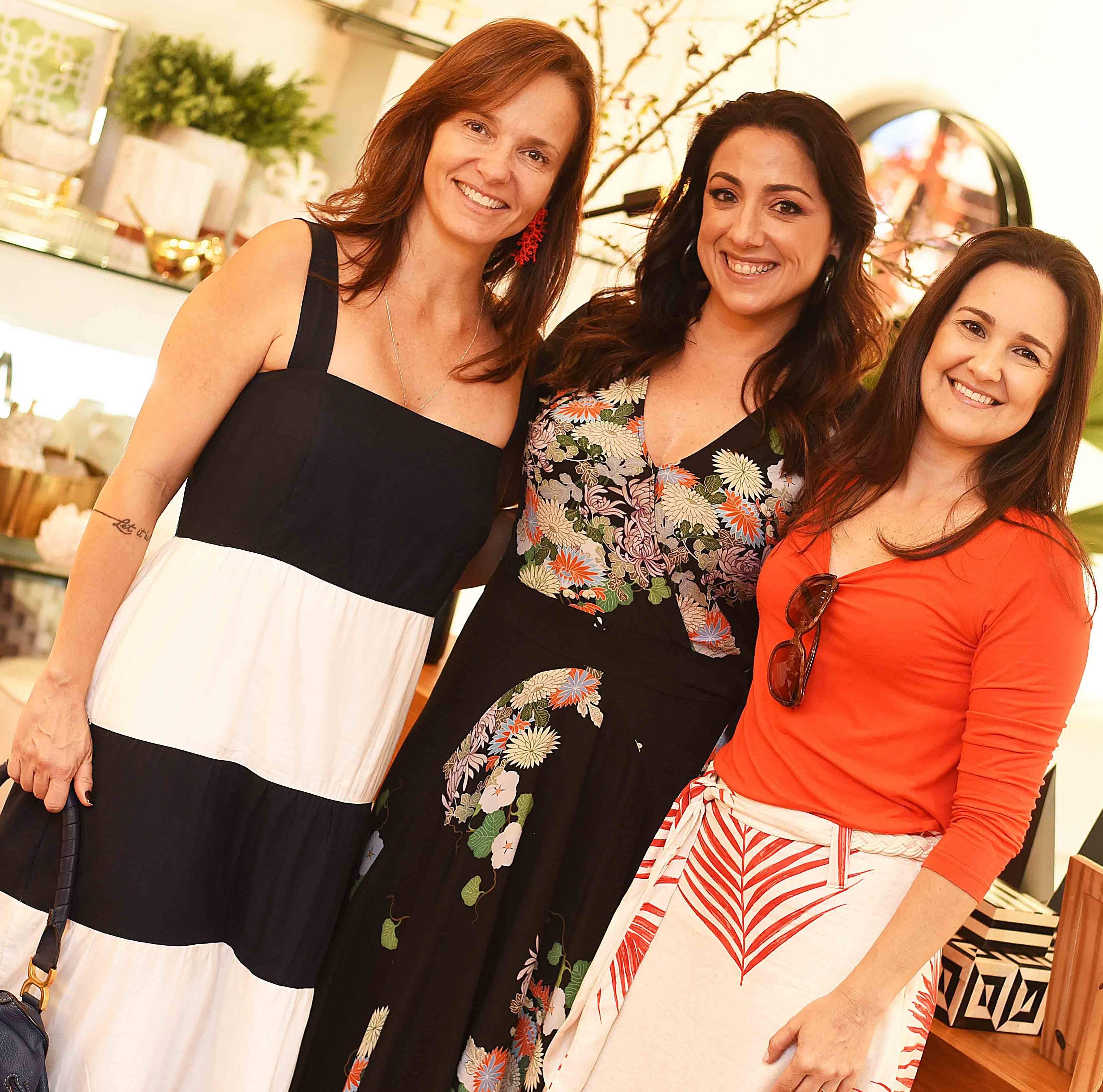 Adriana Trindade, Monica Kochen e Lia Lamego /Foto: Ari Kaye