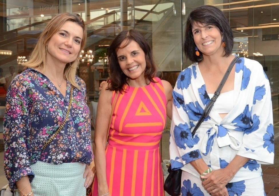 Flavia Marcolini, Angela Falcão e Lucila Pessoa de Queiroz  /Foto: Marco Rodrigues