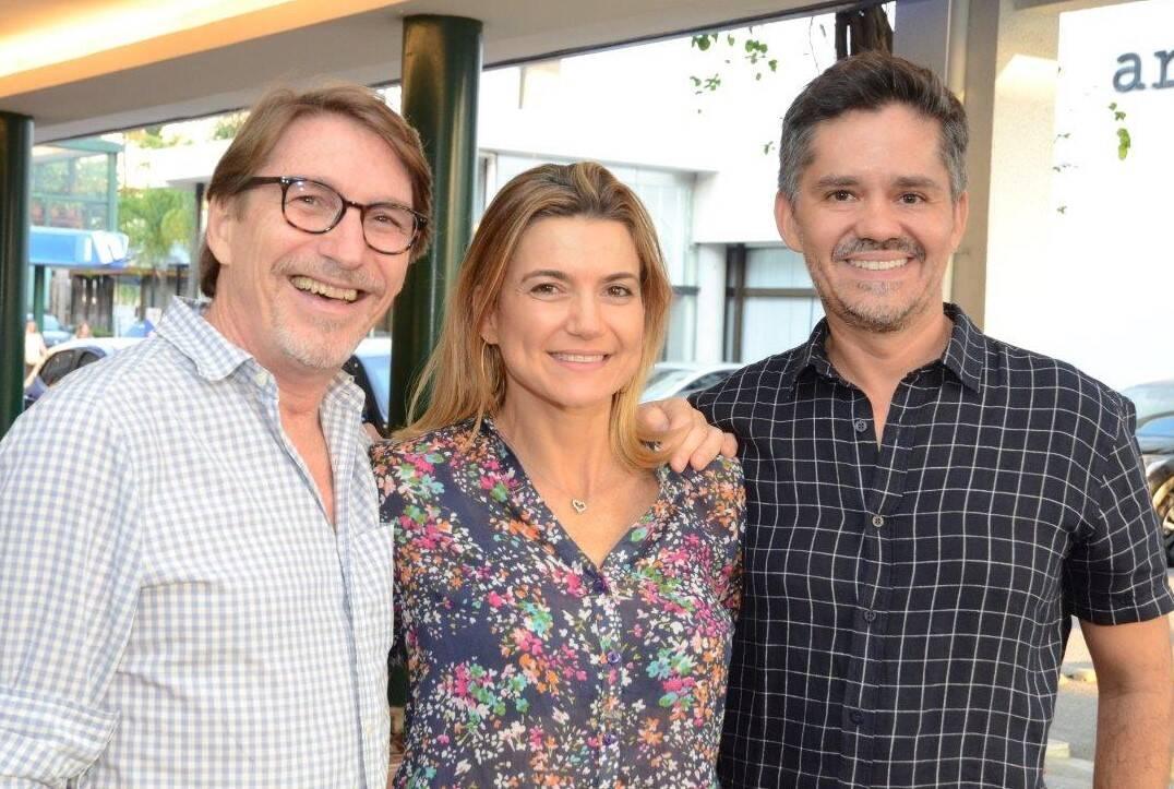 Francisco Amorim, Flavia Marcolini e Ricardo Melo  /Foto: Marco Rodrigues