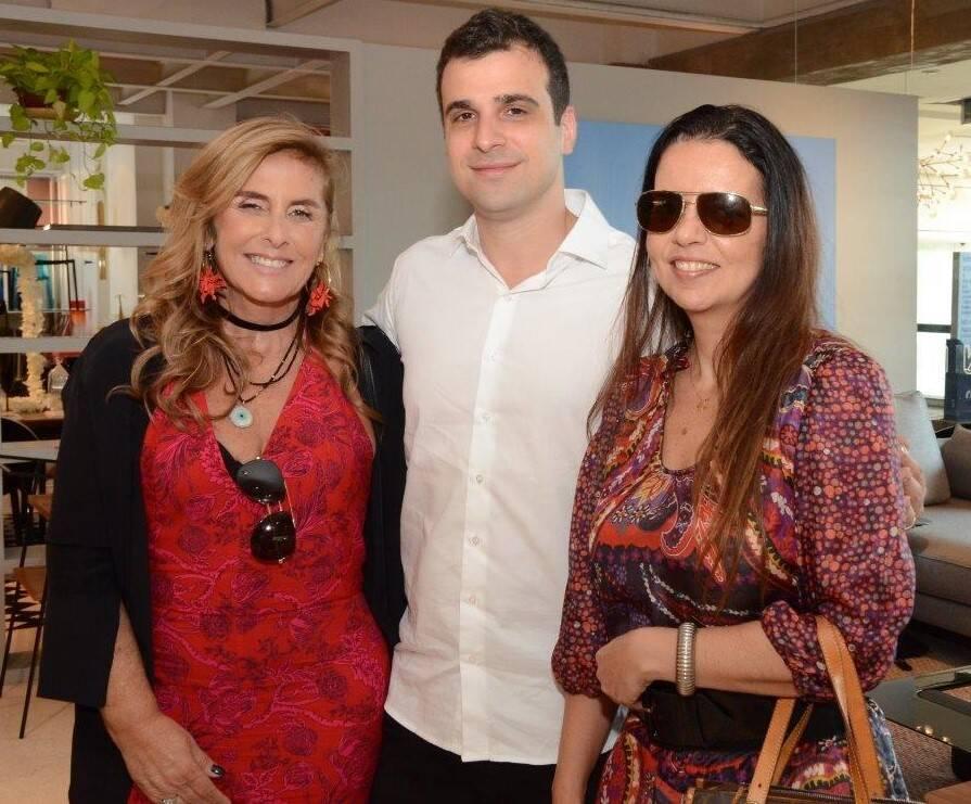 Patricia Hall, Paulo Crosman e Adriana Falcão  /Foto: Marco Rodrigues