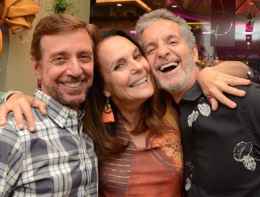 Nando Grabowsky, Patricia Secco e Pedro Guimarães  /Foto: Marco Rodrigues