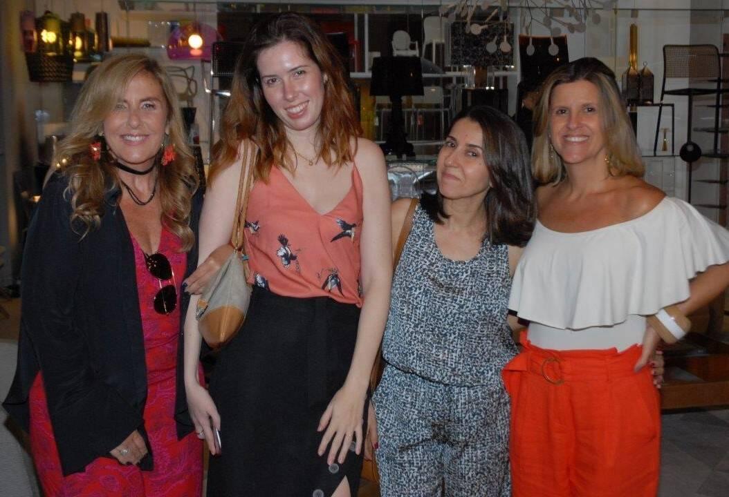 Patricia Hall, Livia Araujo, Cintia Milon e Barbara Machado  /Foto: Marco Rodrigues