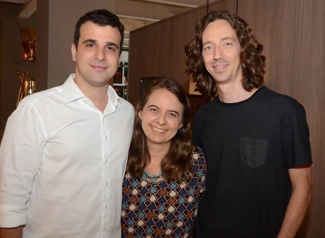 Paulo Crosman, Feranada Bessoni e Raul Moras  /Foto: Marco Rodrigues