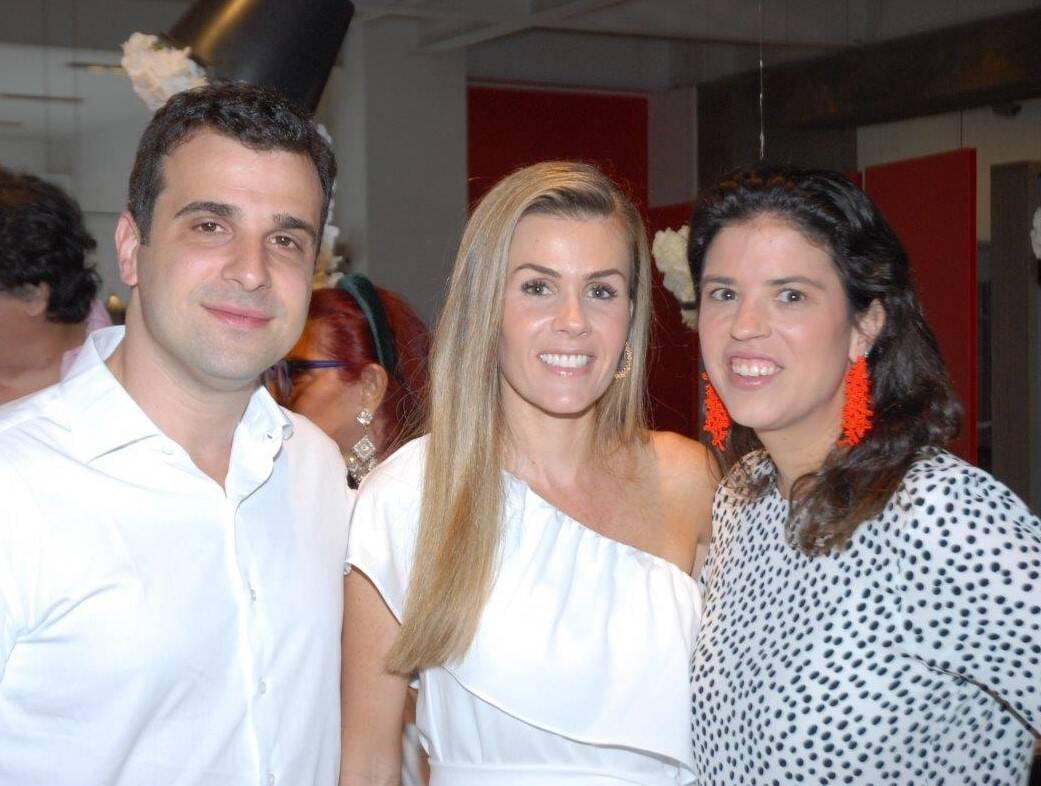 Paulo Crosman, Juliana Neves e Fernanda Quentel  /Foto: Marco Rodrigues