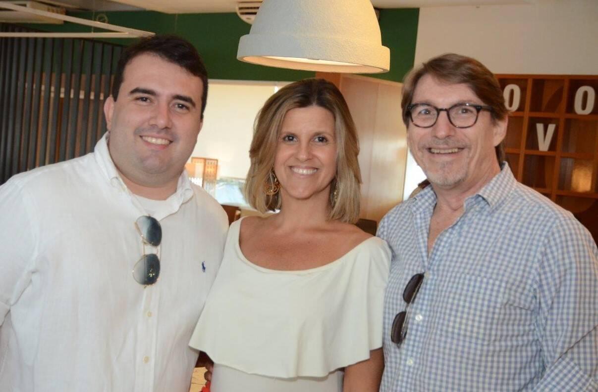 Rafael Costa Bastos, Barbara Machado e Francisco Amorim  /Foto: Marco Rodrigues