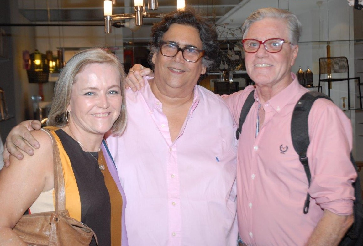 Rosa Prado, Antonio Neves da Rocha e Claudio Lobato  /Foto: Marco Rodrigues