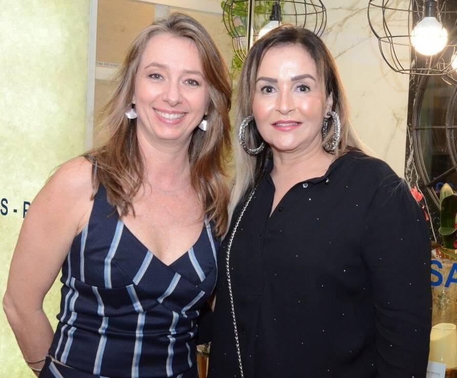 Vivian Reime e Lilian Vieira  /Foto: Marco Rodrigues