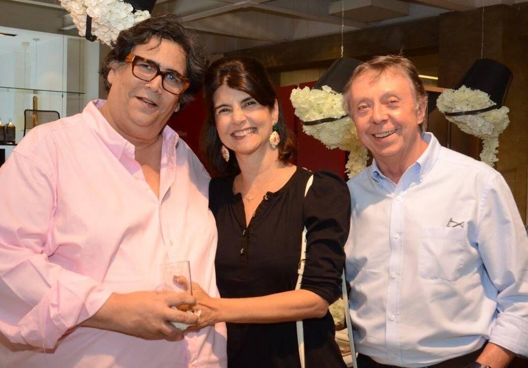 Antonio Neves da Rocha, Viviane e Carlos Alberto Grabowski  /Foto: Marco Rodrigues