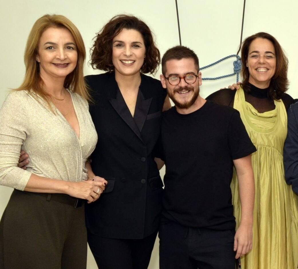 Simone Cadinelli,  Jeane Terra, Ulisses Carrilho e Ursula Tautz   /Foto: Cristina Granato