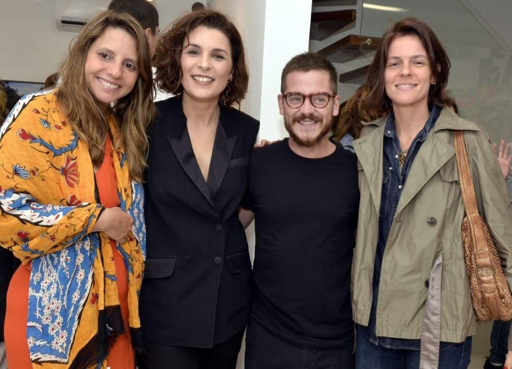 Gabriela Noujaim, Jeane Terra, Ulisses Carrilho e Cecília Fortes  /Foto: Cristina Granato