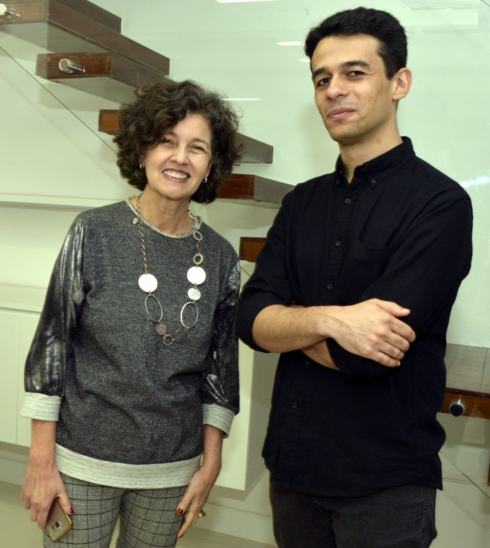 Claudia Noronha e Jimson Vilela  /Foto: Cristina Granato