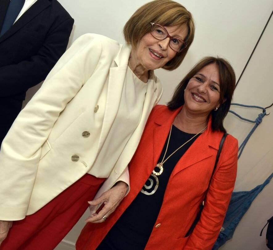 Sheyla Maia e Neuza Garcia  /Foto: Cristina Granato